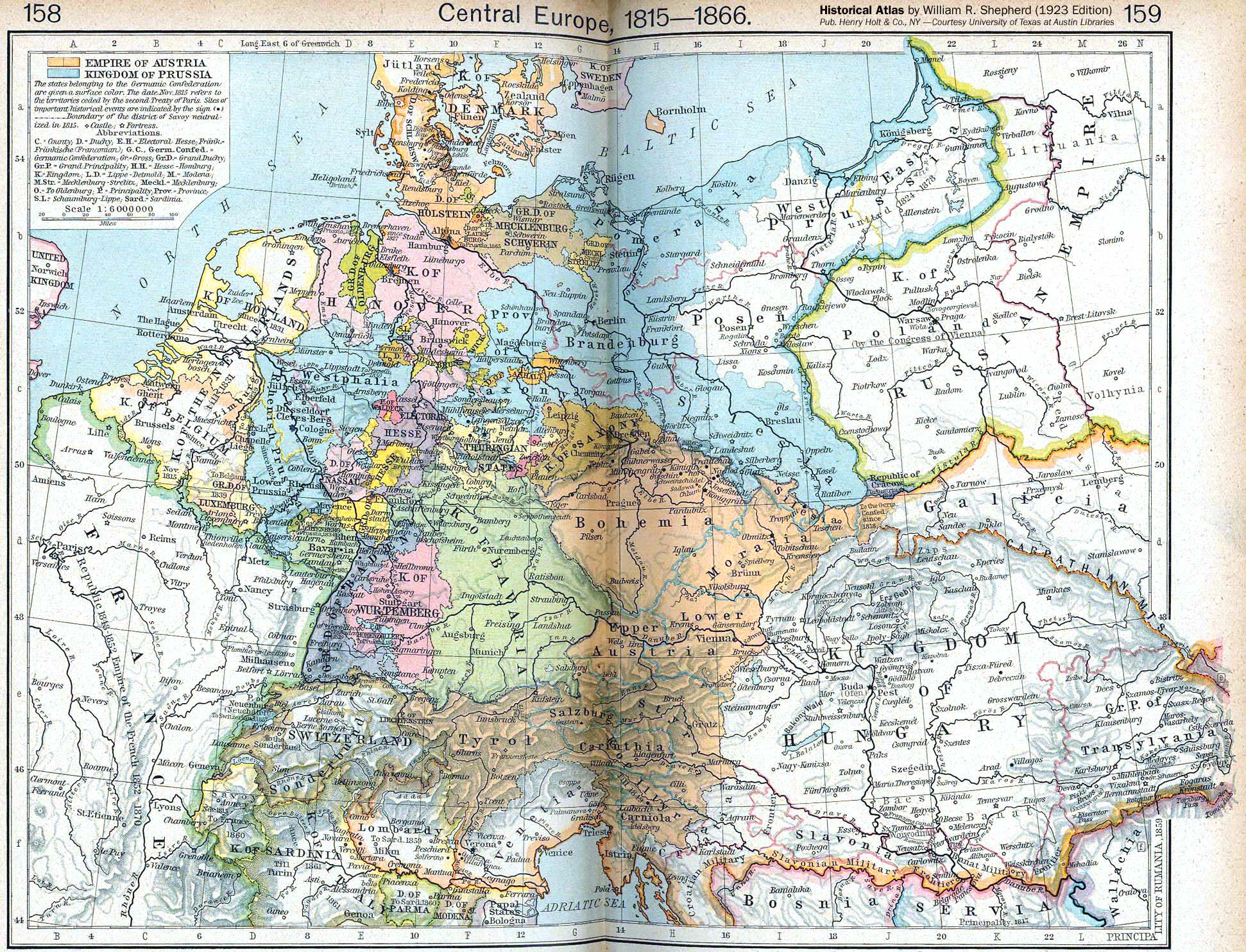 Europe – Historical Maps | Research - Foreign